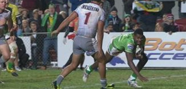 Full Match Replay: Manly-Warringah Sea Eagles v Canberra Raiders (1st Half) - Round 11, 2013