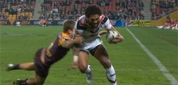 Full Match Replay: Brisbane Broncos v Warriors (1st Half) - Round 12, 2013