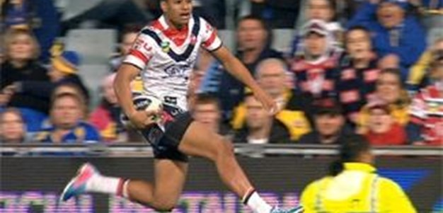 Full Match Replay: Parramatta Eels v Sydney Roosters (1st Half) - Round 13, 2013
