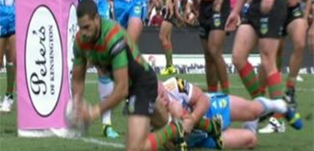 Full Match Replay: South Sydney Rabbitohs v Gold Coast Titans (1st Half) - Round 14, 2013