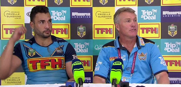 Titans press conference - Round 5