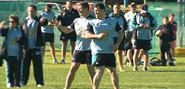 Gallen and Bird start training
