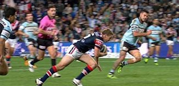 Full Match Replay: Sydney Roosters v Cronulla-Sutherland Sharks (2nd Half) - Round 19, 2013