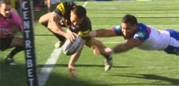 Full Match Replay: Penrith Panthers v Newcastle Knights (1st Half) - Round 19, 2013
