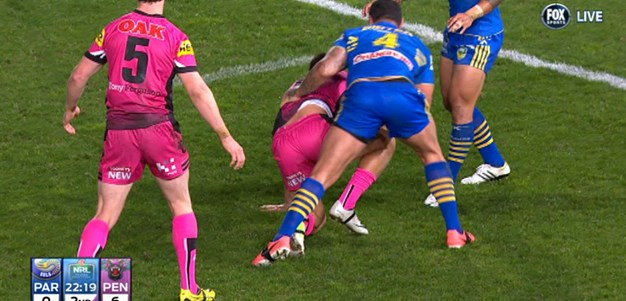 Rd 18: Try Kevin Kingston (23rd min)