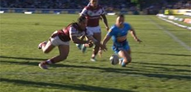 Full Match Replay: Manly-Warringah Sea Eagles v Gold Coast Titans (1st Half) - Round 19, 2013