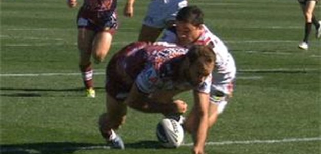 Full Match Replay: Manly-Warringah Sea Eagles v Warriors (1st Half) - Round 22, 2013