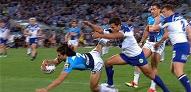 Full Match Replay: Canterbury-Bankstown Bulldogs v Gold Coast Titans (1st Half) - Round 22, 2013