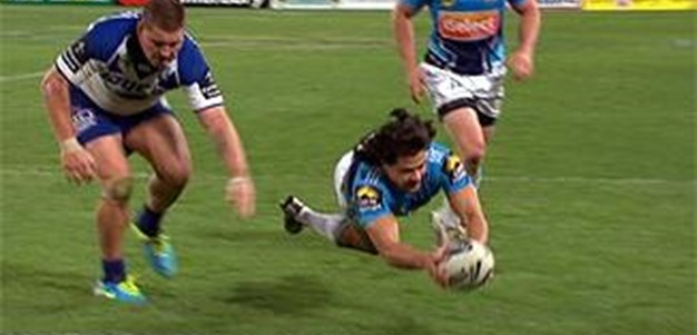 Full Match Replay: Canterbury-Bankstown Bulldogs v Gold Coast Titans (2nd Half) - Round 22, 2013