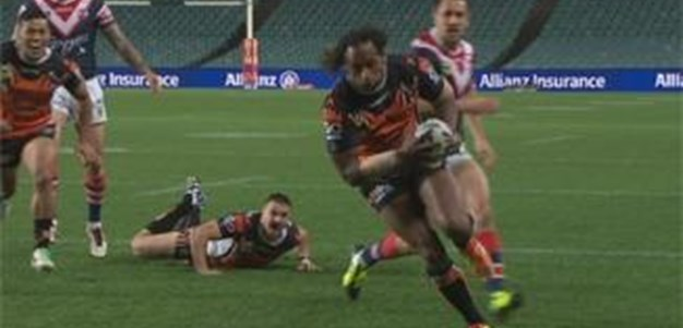 Full Match Replay: Wests Tigers v Sydney Roosters (1st Half) - Round 23, 2013