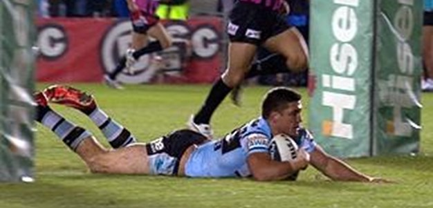 Full Match Replay: Cronulla-Sutherland Sharks v Sydney Roosters (1st Half) - Round 24, 2013