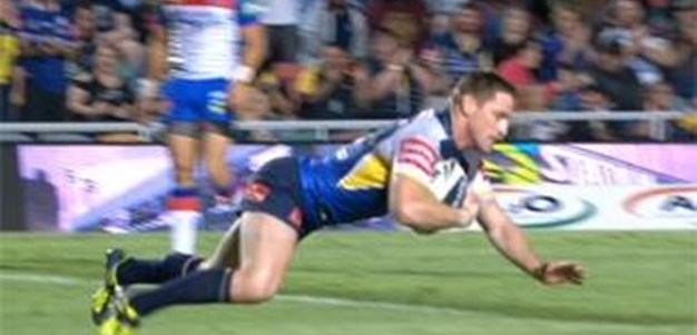 Full Match Replay: North Queensland Cowboys v Newcastle Knights (1st Half) - Round 24, 2013