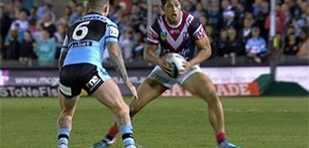 Full Match Replay: Cronulla-Sutherland Sharks v Sydney Roosters (2nd Half) - Round 24, 2013