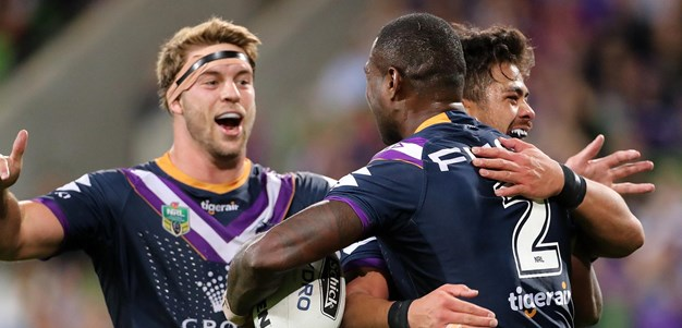 Wingers fire to help Storm cruise past Knights