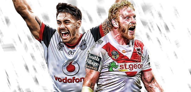 Warriors v Dragons - Round 7
