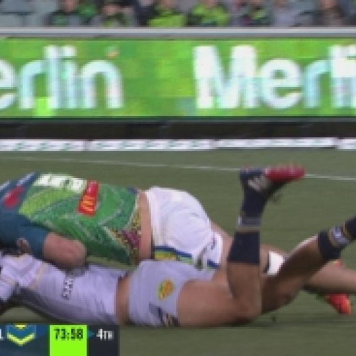 Rd 17: TRY Te Maire Martin (74th min)