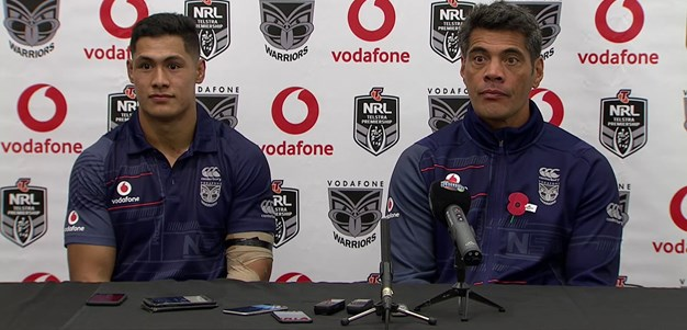 Warriors press conference - Round 7