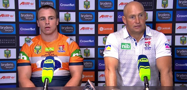 Knights press conference - Round 7