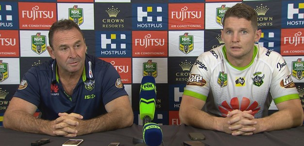 Raiders press conference - Round 7