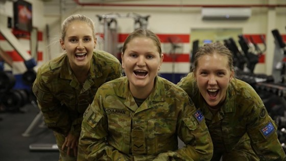 Australian Defence Force shout out to their NRL teams