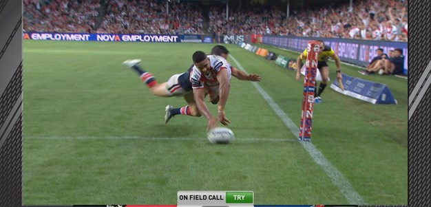 Macdonald awarded controversial try