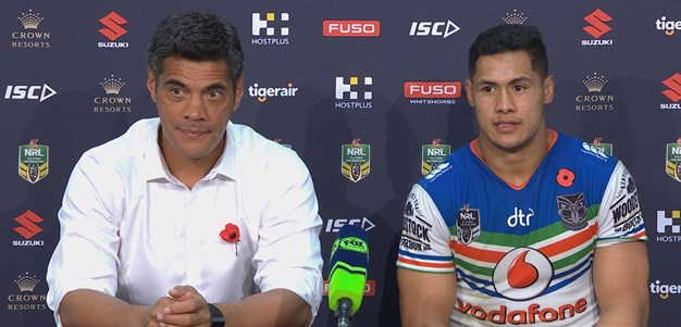 Warriors press conference: Round 8, 2018
