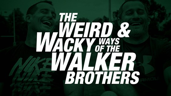The Walker brothers explain their coaching methods