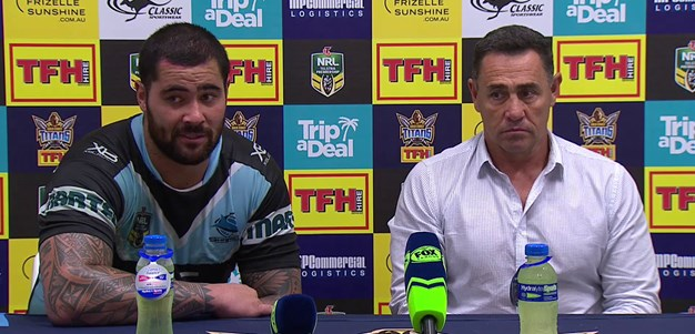 Sharks press conference - Round 8