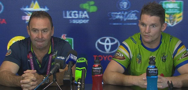 Raiders press conference - Round 8