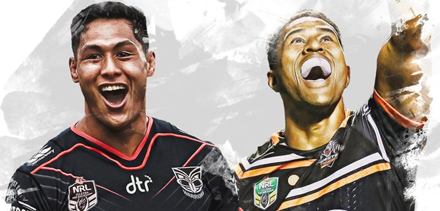 Warriors v Wests Tigers - Round 9