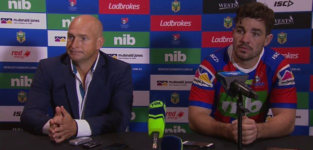 Knights press conference - Round 9