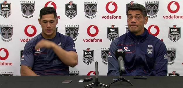 Warriors press conference - Round 9