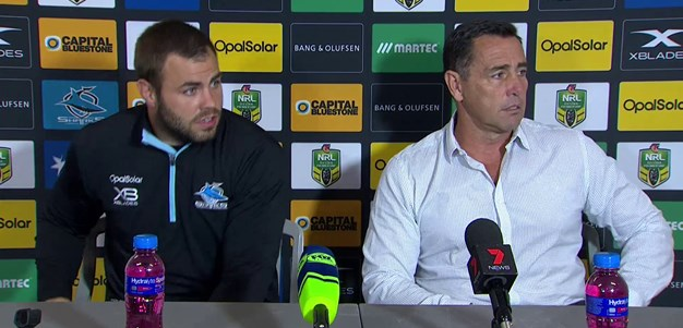 Sharks press conference - Round 9