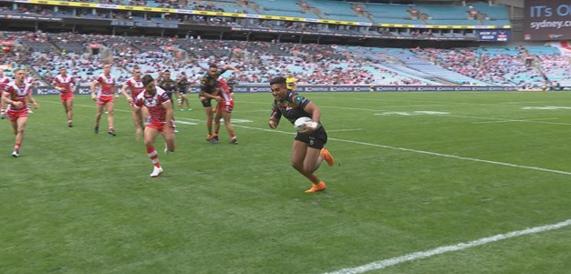 Hunt puts Rabbitohs on top early