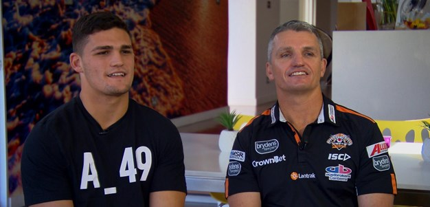 I'm really proud of him': Nathan on Ivan Cleary
