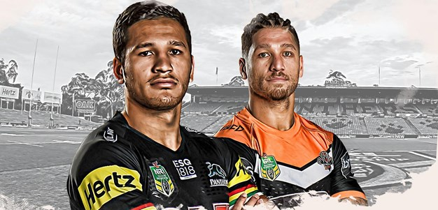 Panthers v Wests Tigers - Round 11
