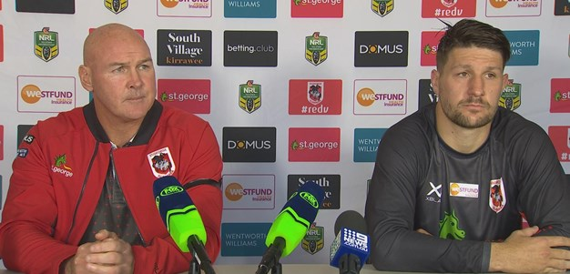Dragons press conference: Round 11, 2018