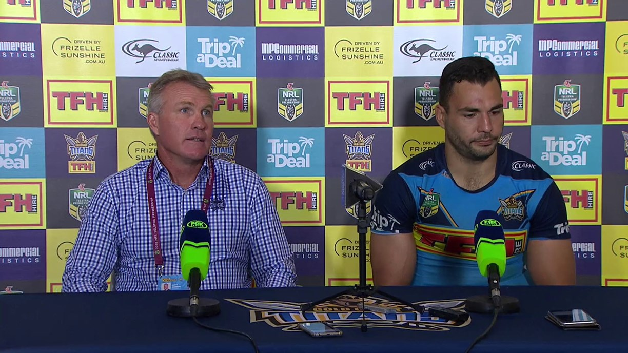 Titans press conference – Round 11