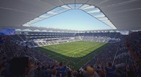 Easter  Monday launch of new Parramatta Stadium?