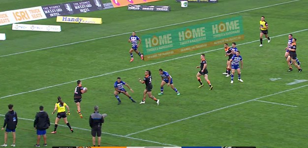 Benji brillance sets up Thompson try