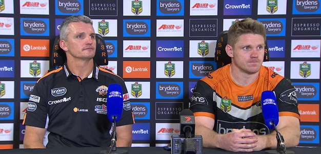 Wests Tigers press conference: Round 12; 2018