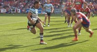 Ramien scores first for Cronulla