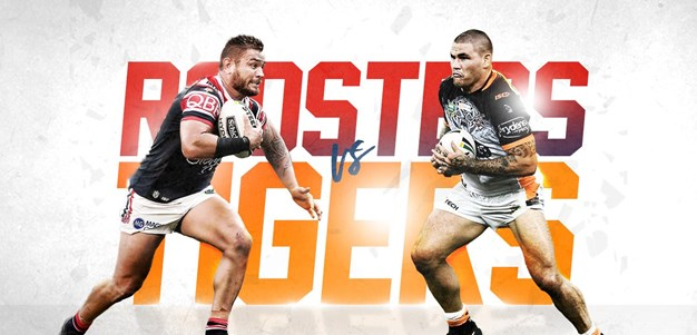 Roosters v Wests Tigers - Round 13