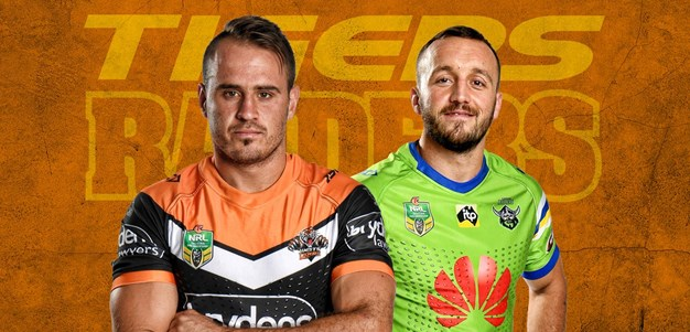 Wests Tigers v Raiders - Round 15