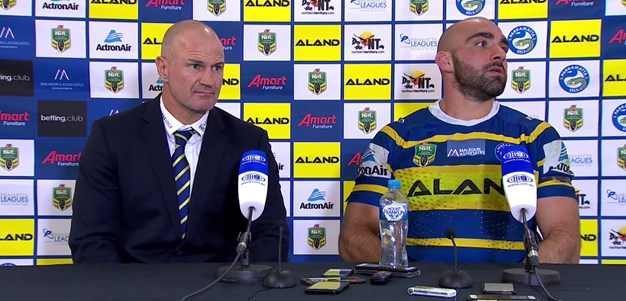 Eels press conference - Round 15