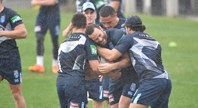 Blues insist wet weather won't dampen Origin prep