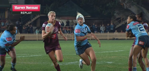 Brigginshaw brilliance gives Brown a double