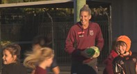Womens Maroons footy clinic