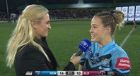 Kelly crowned woman of the match
