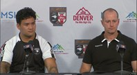 Kiwis press conference - Denver Test